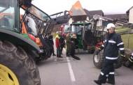 Traktor- Anhänger Bergung 25. Nov. 2012