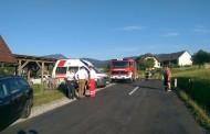 Verkehrsunfall auf der L357