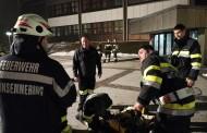 Abschnitts-Atemschutzübung im Bundesschulzentrum Weiz