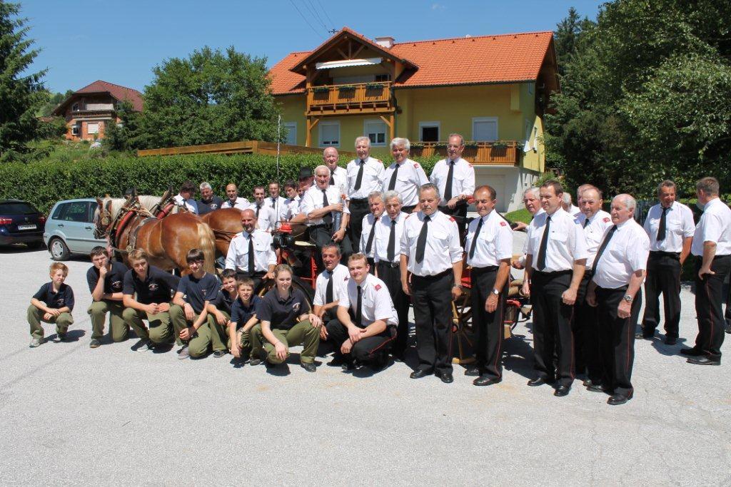 Tolle Leistung beim Landesfeuerwehrtag in Altaussee!!!