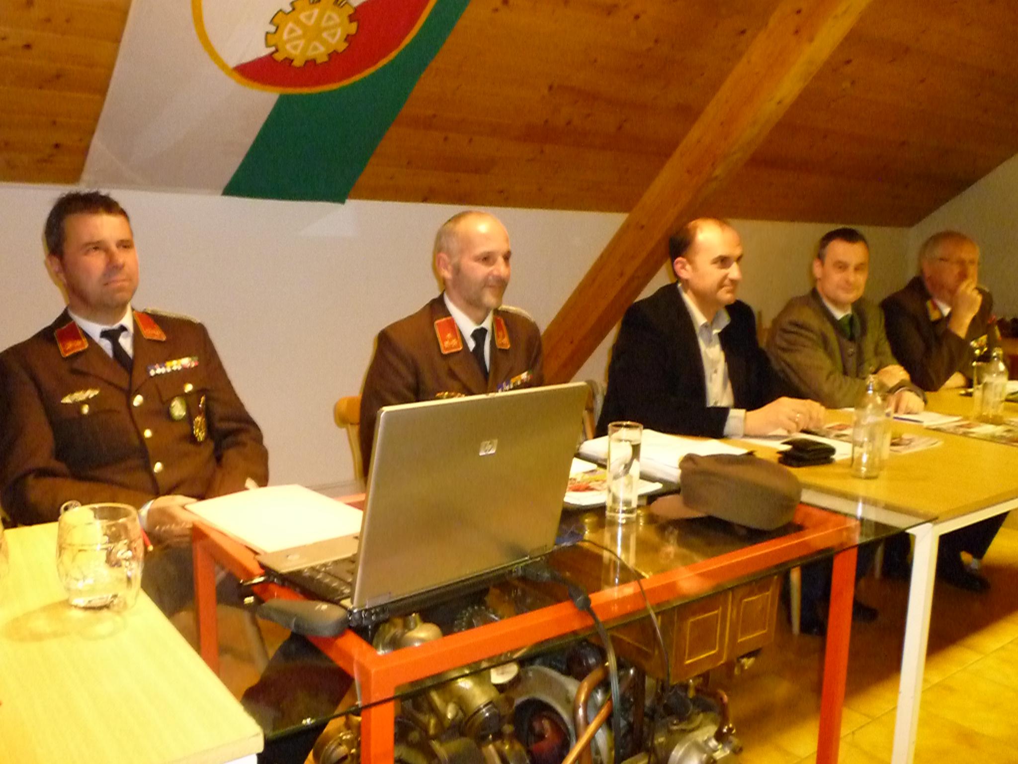 Wehrversammlung am 25. Jänner 2013