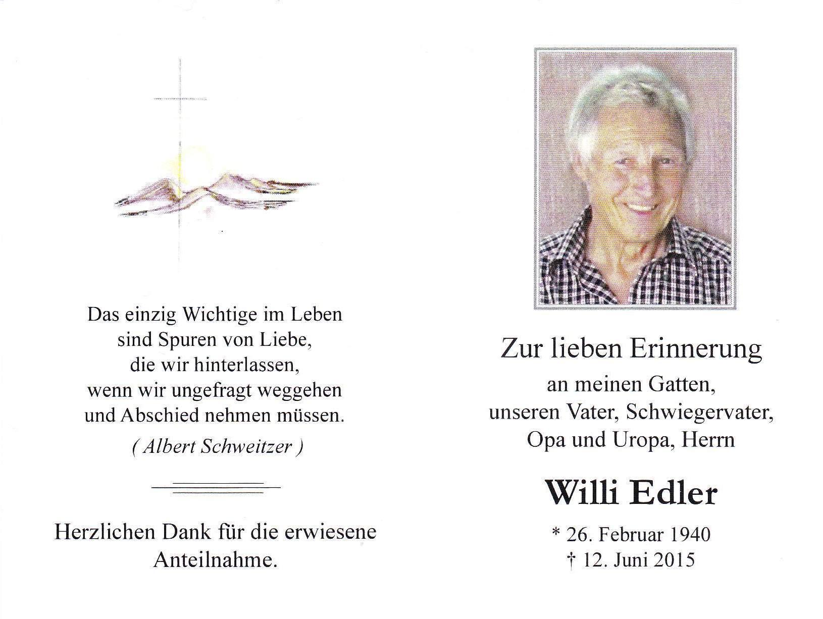 Edler Willhelm