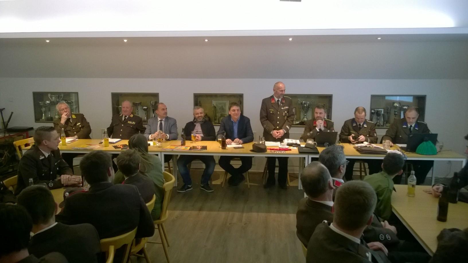 Wehrversammlung 2017 mit Kommando Neuwahlen