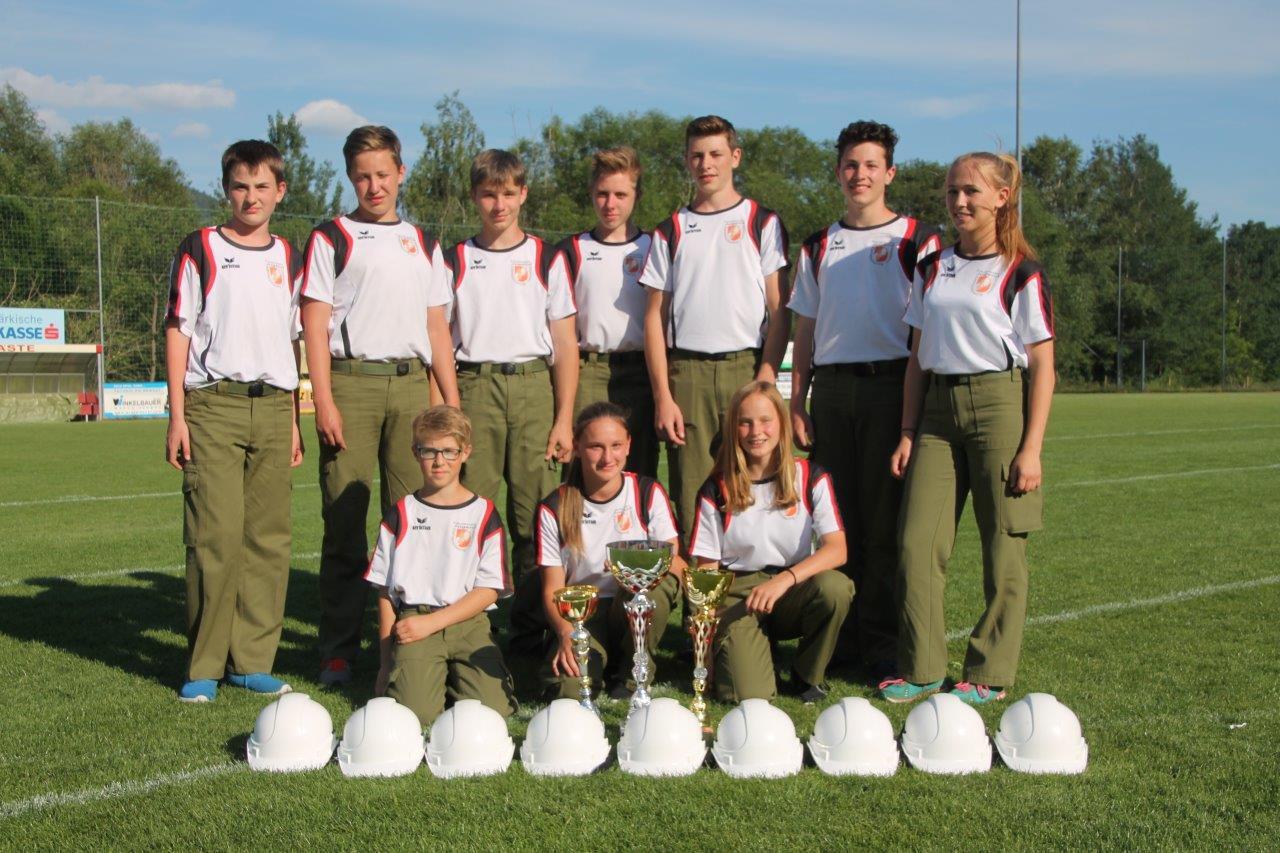 Jugendleistungsbewerb in Bärnbach