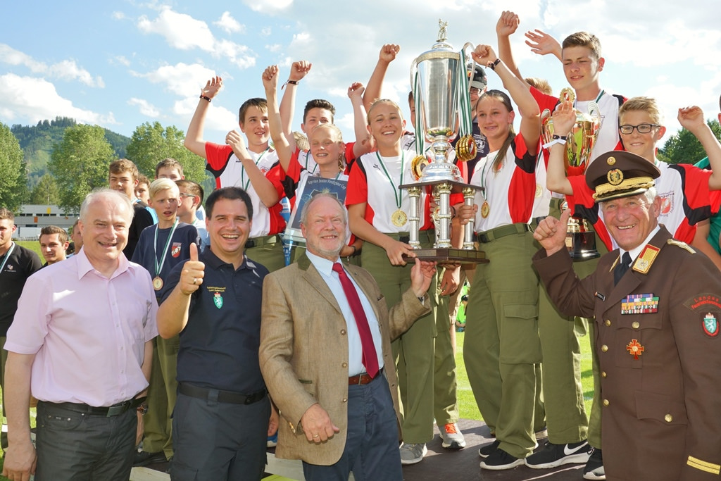 STYRIAN JUNIOR FIREFIGHTER CUP - SIEGER 2017