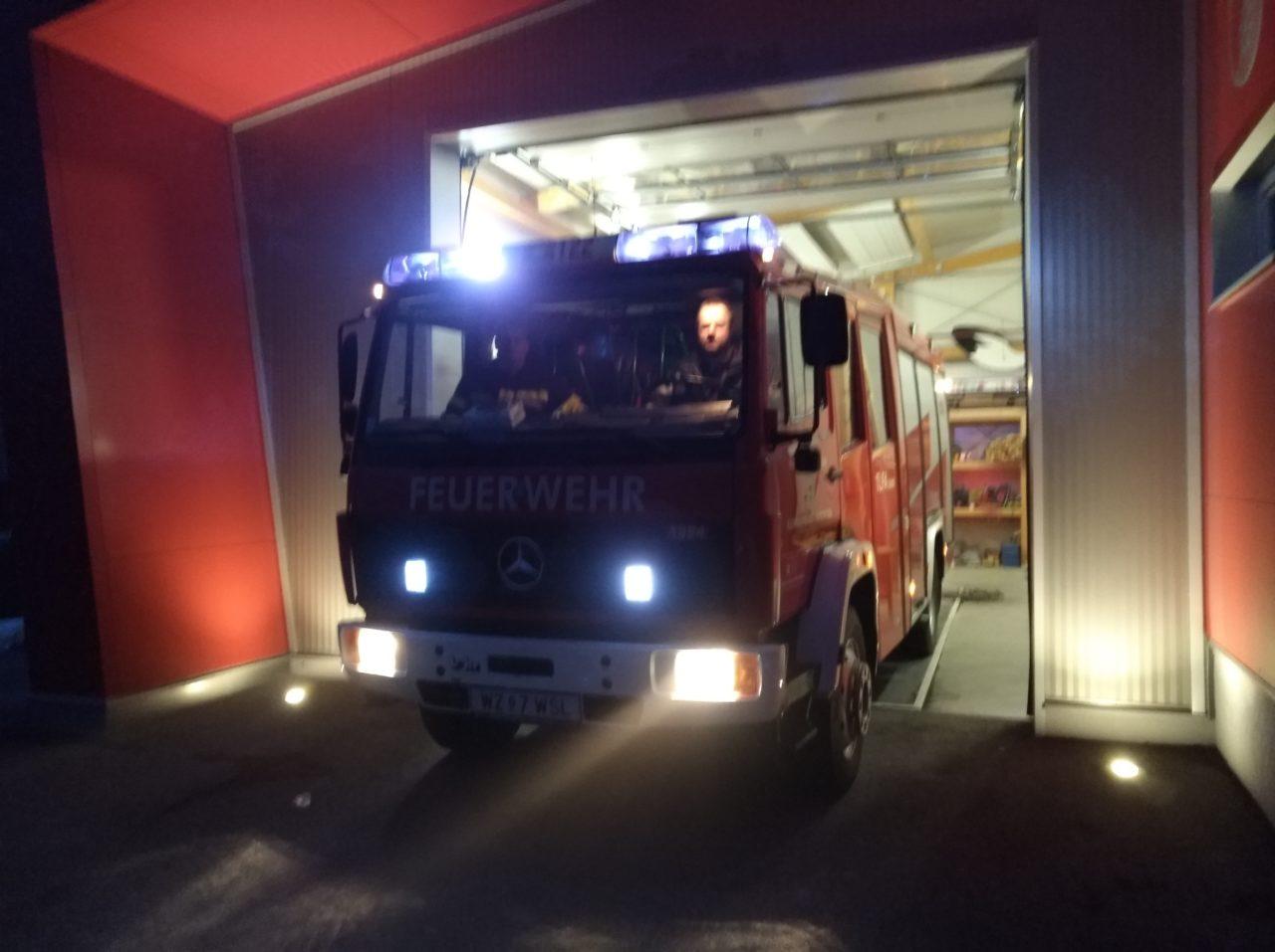 Einsatz 2.1.2019 L357 Fahrzeugbergung Richtung Gutenberg
