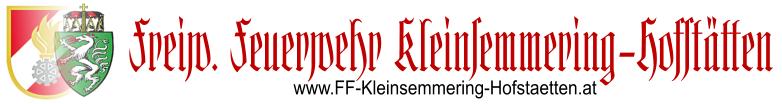 FF Kleinsemmering-Hofstätten